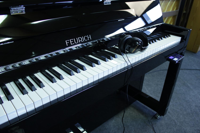 Feurich, Mod. 115 - Premiere (Silent) Klavier