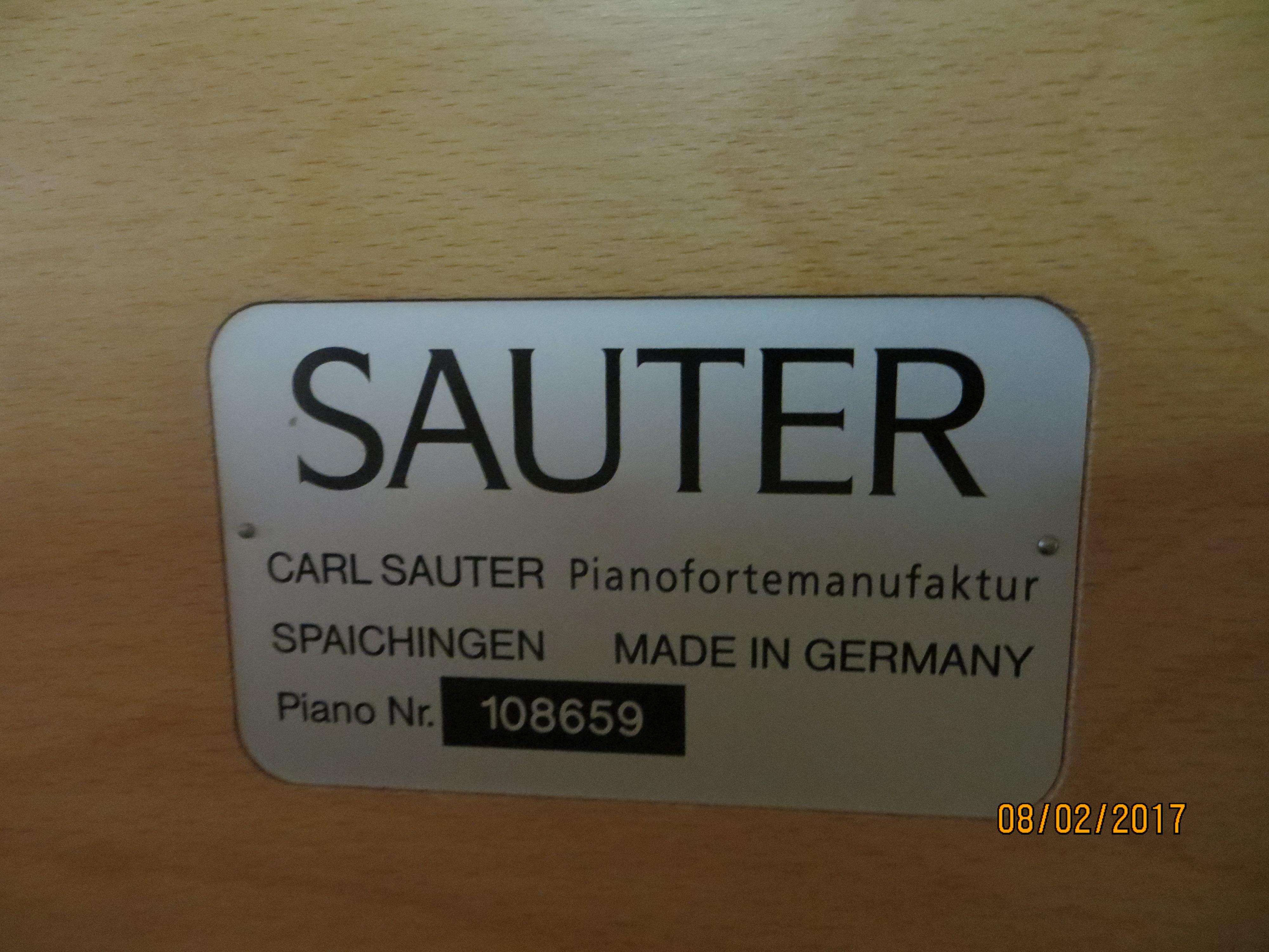 Sauter, Mod. Onda Klavier