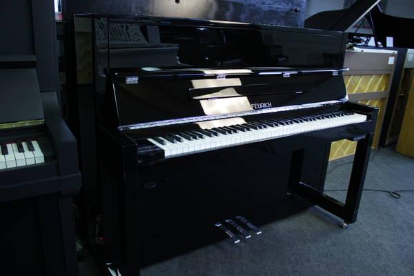 Feurich Klavier, Mod. 115 - Premiere (Silent)