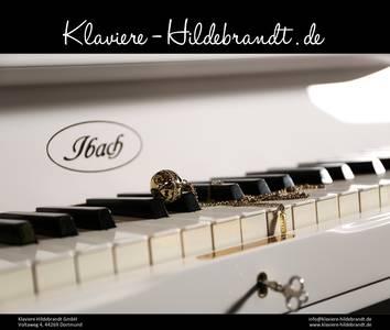 Dekoriertes Ibach Klavier